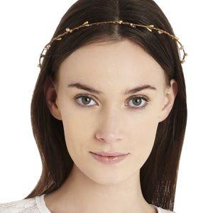 BCBG Beaded Wreath Headband